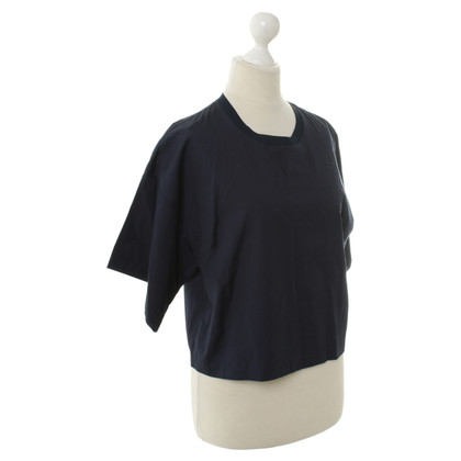 3.1 Phillip Lim Crop top in donkerblauw
