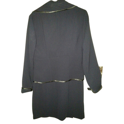 Jean Paul Gaultier throw over and jacket
