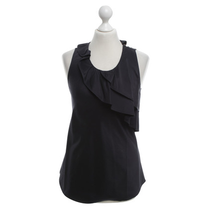 Hugo Boss Blouse in dark blue