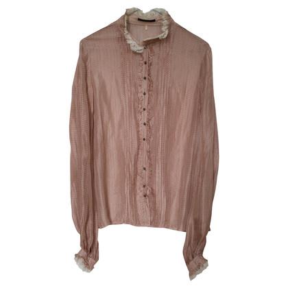 Elie Tahari zijden blouse