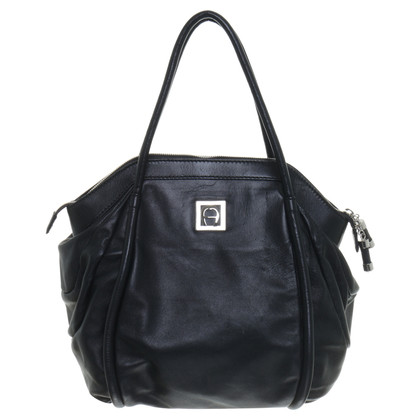 Aigner Tote in black