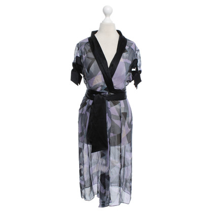 Diane von Furstenberg Silk dress with satin ribbons