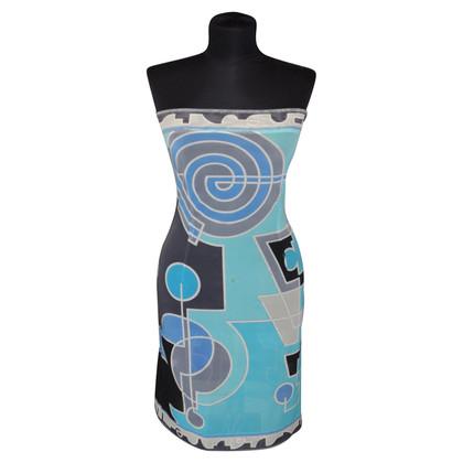 Emilio Pucci Bandeau-Kleid mit Muster