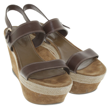 Sergio Rossi Wedges in brown