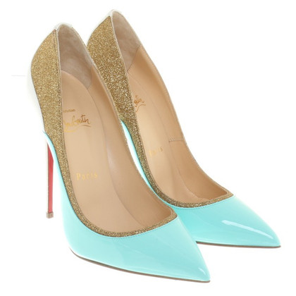 Christian Louboutin pumps with glitter applications