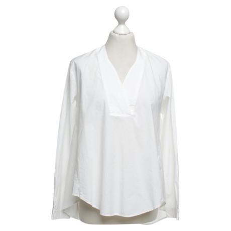 Hoss Intropia Bluse in Weiß Weiß