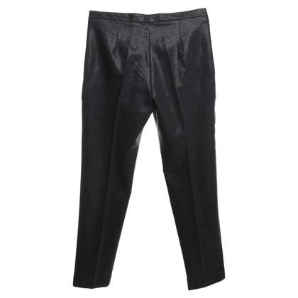 Cacharel Pantaloni con effetto lucido