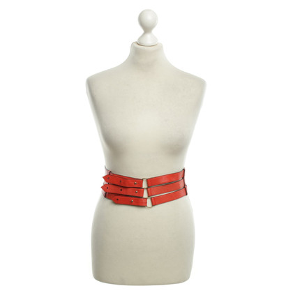 Aigner Belts in red