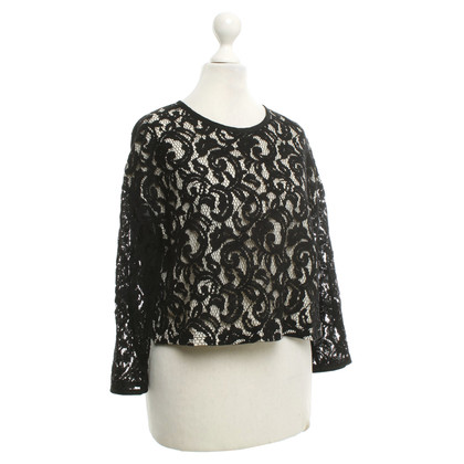 French Connection Blouse met kant