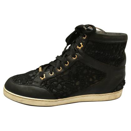 Jimmy Choo Hoge top sneakers