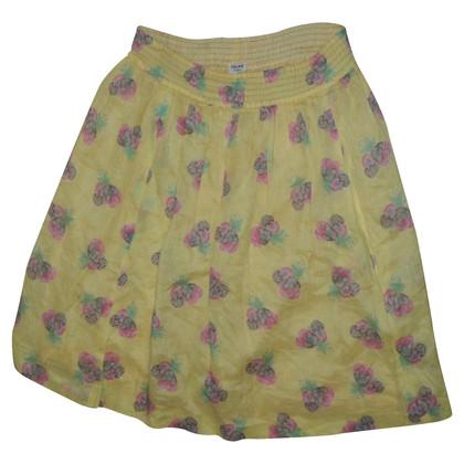 Céline linen skirt