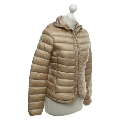 Moncler Quilted jacket in beige