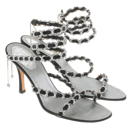 René Caovilla Sandals in black