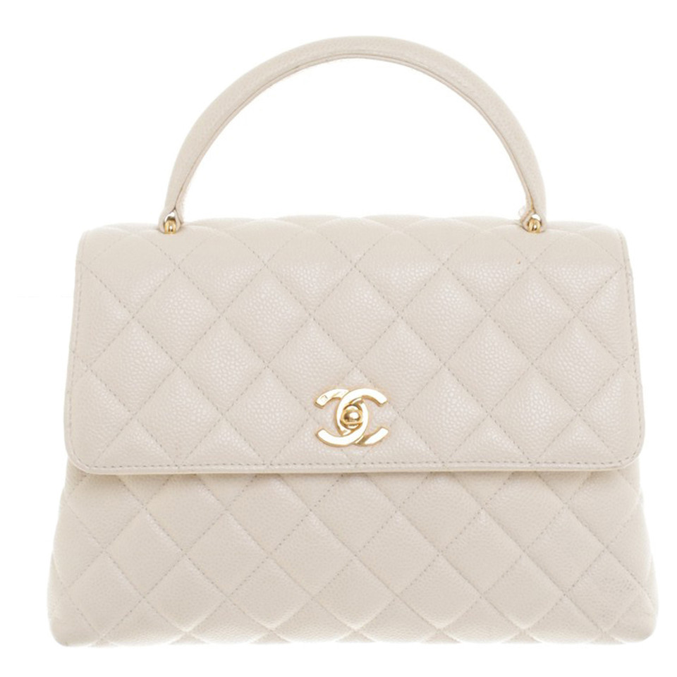 Chanel Flap Bag with handle grip