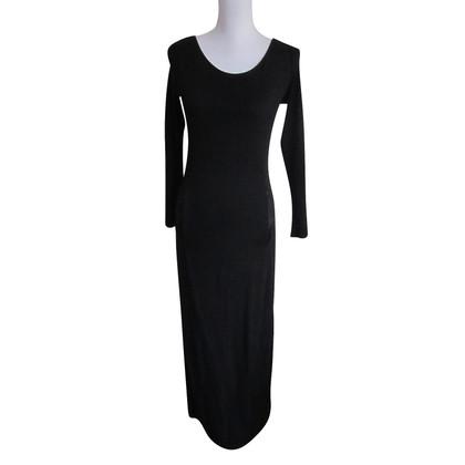 Marc Cain robe de soirée noire.