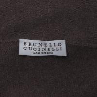 Brunello Cucinelli Pull en cachemire marron