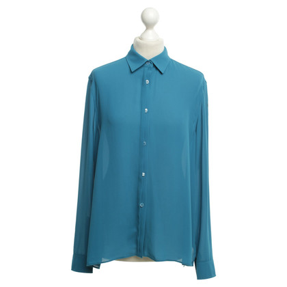 Acne Blouse in petroleum