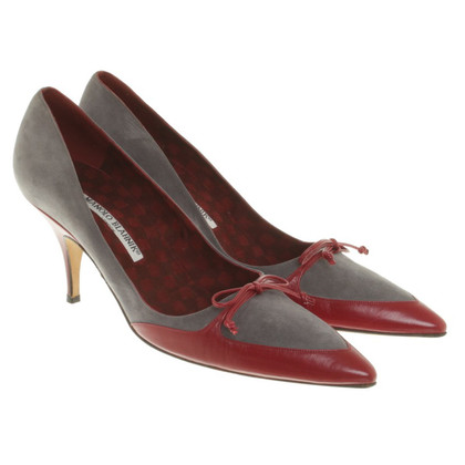 Manolo Blahnik pumps with decorative loop