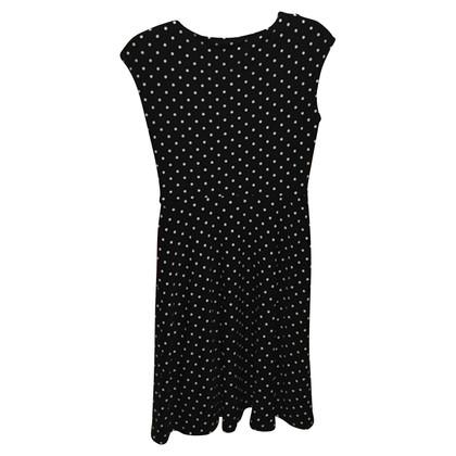 Ralph Lauren Jersey-Kleid mit Punkten
