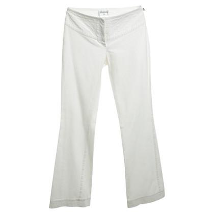Chanel Pantaloni in bianco