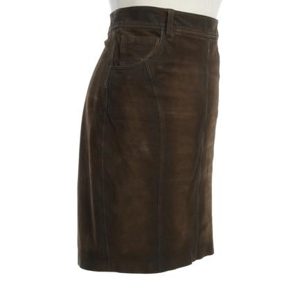 Burberry skirt made of suede