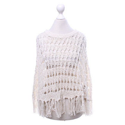 360 Sweater Cape in Beige