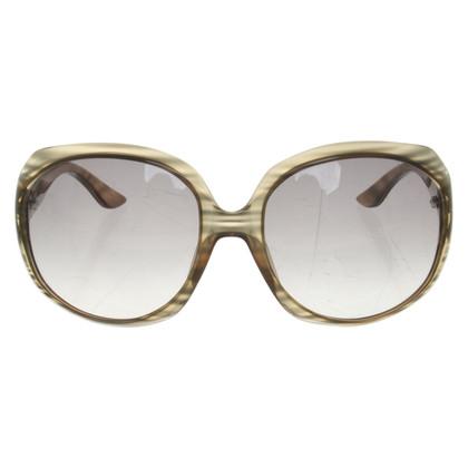 Christian Dior Gemusterte Sonnenbrille
