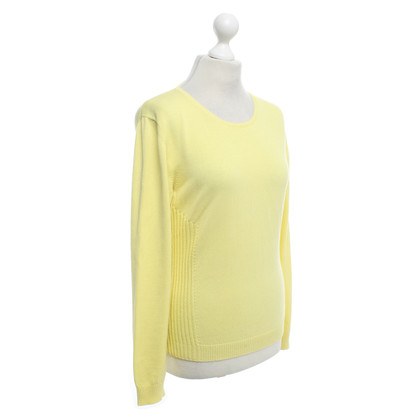 Malo Sweater in lemon yellow