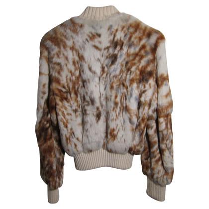 Versace Rabbit fur jacket