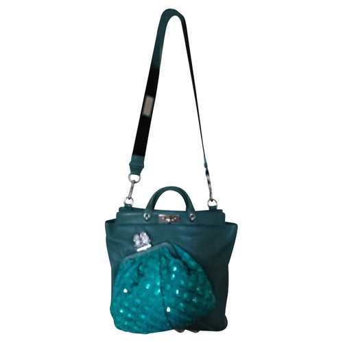 1885aa6ea2 Marc Jacobs Borsa a tracolla in Pelle in Verde - Second hand Marc ...