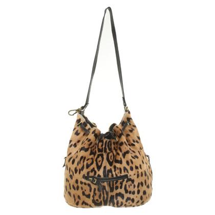 Jerome Dreyfuss Handtasche mit Leoparden-Print