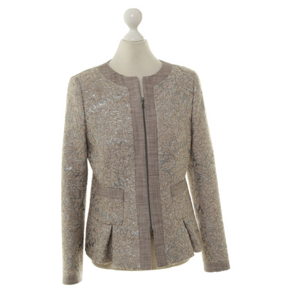 Thomas Rath Jacket in silver and beige