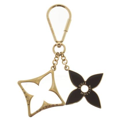Louis Vuitton Gold colored key chain