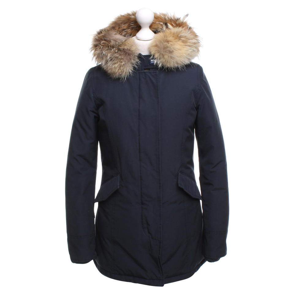 Woolrich cappotto invernale in blu scuro