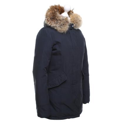 Woolrich Manteau d'hiver en bleu foncé