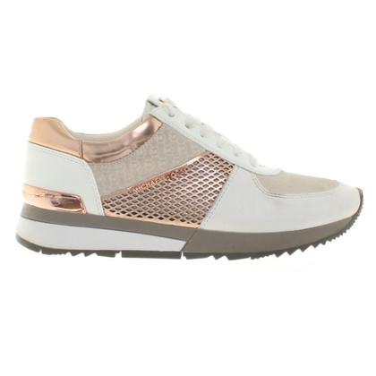 Michael Kors Chaussures de sport à la crème