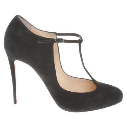 Christian Louboutin pumps in zwart