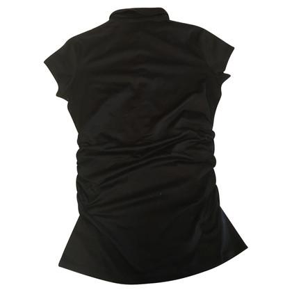 Moncler Maglietta nera in cotone