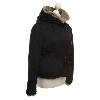 IQ Berlin Jacket with fur trim