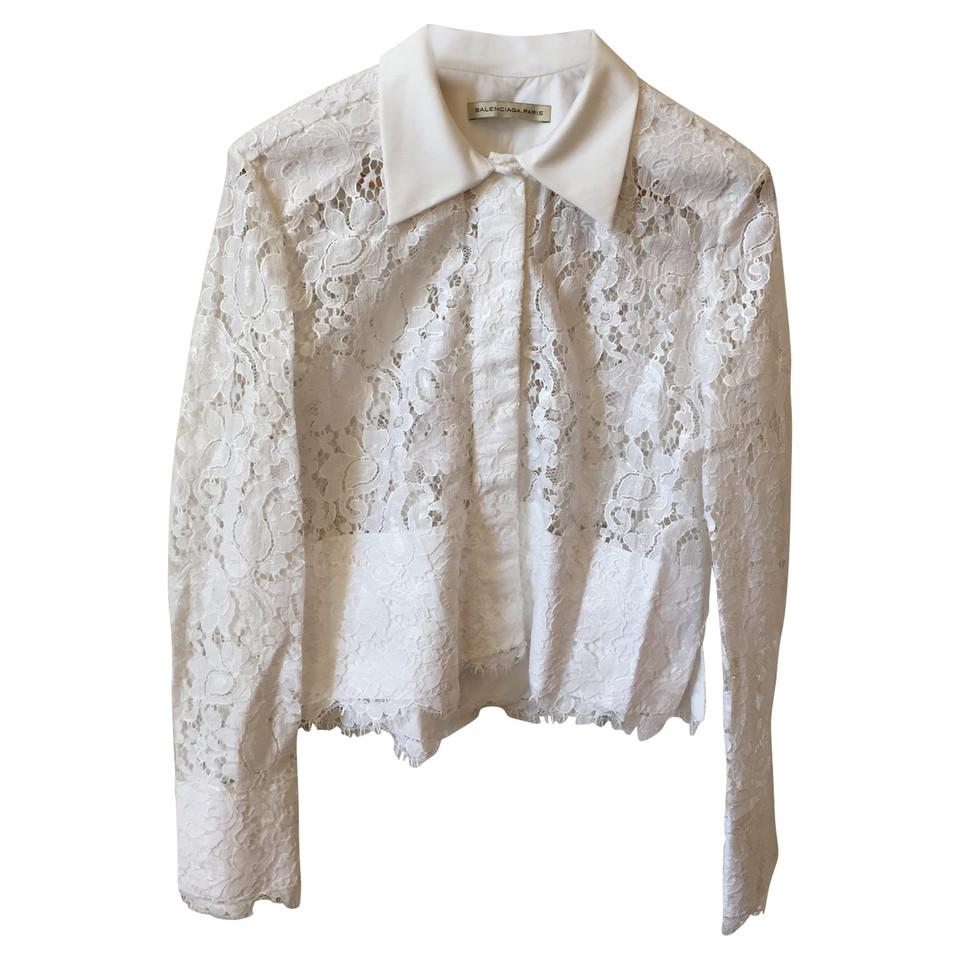 Balenciaga Blouse of lace