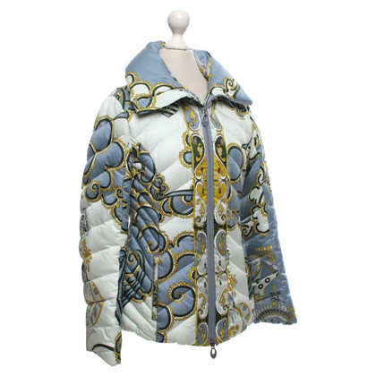 Emilio Pucci Quilted jacket with pattern