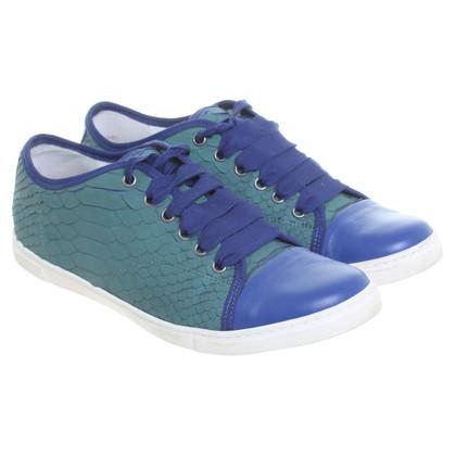 Lanvin Zweifarbige Sneakers