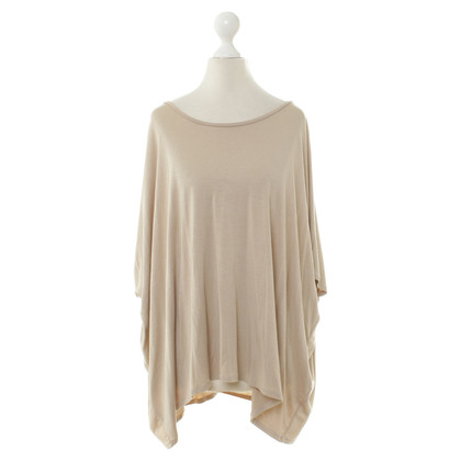By Malene Birger Top oversize in beige