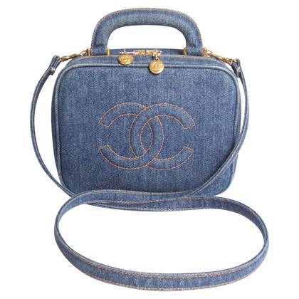"""Chanel """"Vanity Case Bag Vintage Denim"""""""