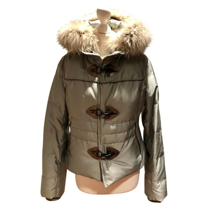 Fay Jacket with fur hood