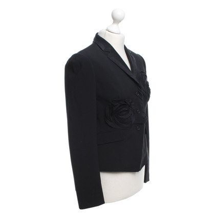 Paul Smith Blazer mit Applikation in Schwarz