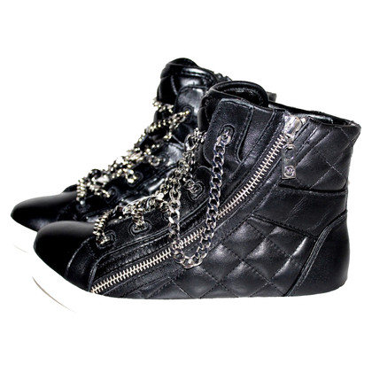 Michael Kors High sneaker urban leather black