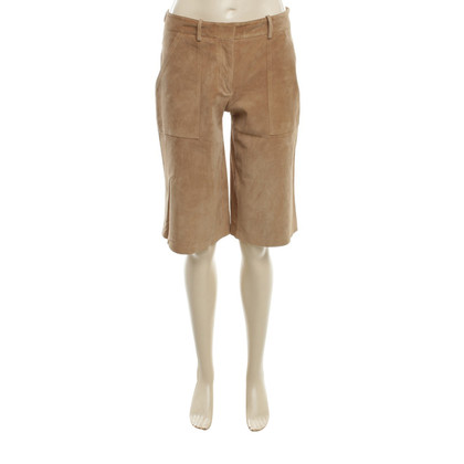 Theory Short trousers from suede