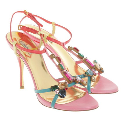 Miu Miu Sandals with gems