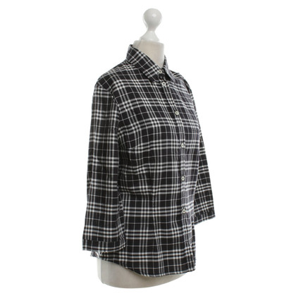 Burberry Blouse in black and white